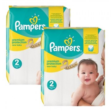 93 Couches Pampers Premium Protection taille 2