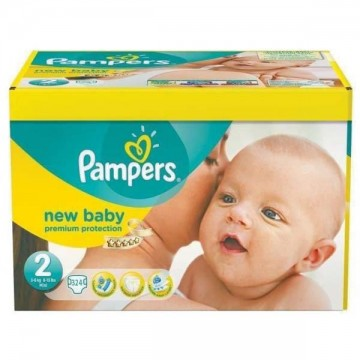 372 Couches Pampers Premium Protection taille 2