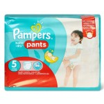 Pack de 22 Couches de Pampers Baby Dry Pants sur auchan