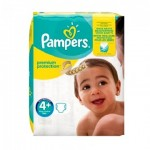 50 Couches Pampers New Baby Premium Protection taille 4+