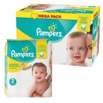 62 Couches Pampers New Baby Premium Protection taille 2