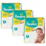 Giga pack de 248 Couches Pampers New Baby Premium Protection sur auchan