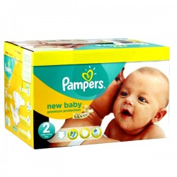 279 Couches Pampers New Baby Premium Protection taille 2