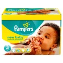 180 Couches Pampers New Baby Premium Protection taille 3
