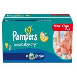 480 Couches Pampers Baby Dry taille 4+