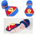 Premier ensemble nouveaux nés Choupinet Superman taille 6-18Mois