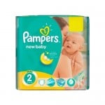 Mega pack 80 Couches Pampers New Baby Premium Protection taille 2