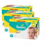 Pampers - Pack jumeaux 640 Couches New Baby Premium Protection taille 2