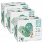378 Couches Pampers Pure Protection taille 2