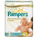 Pack de 60 Couches Pampers Premium Care sur auchan