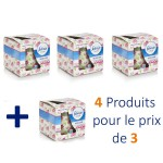 Maxi Pack 4 Bougies Parfumées Febreze de Flower Bloom sur layota