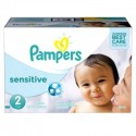300 Couches Pampers New Baby Sensitive taille 2
