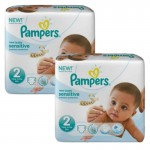 480 Couches Pampers New Baby Sensitive taille 2
