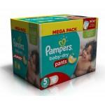 192 Couches de Pampers Baby Dry Pants sur auchan