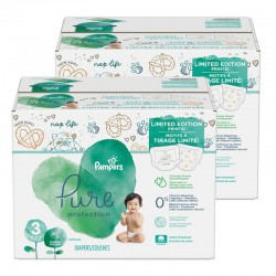 44 Couches Pampers Pure Protection taille 3