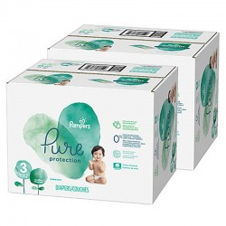 154 Couches Pampers Pure Protection taille 3