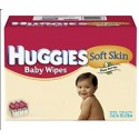 392 Lingettes Bébés Huggies Soft Skin