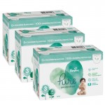 352 Couches Pampers Pure Protection taille 3