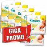 504 Lingettes Bébés de Pampers New Baby Sensitive sur auchan