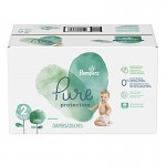 54 Couches Pampers Pure Protection taille 2