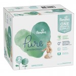 108 Couches Pampers Pure Protection taille 2