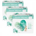 189 Couches Pampers Pure Protection taille 2