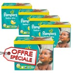 112 Couches Pampers de Baby Dry sur auchan