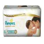 Pack 30 Couches Pampers Premium Care sur auchan