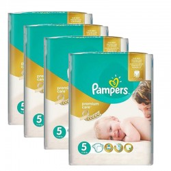 330 Couches Pampers Premium Care taille 5