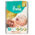 22 Couches Pampers New Baby Premium Care taille 2