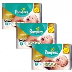 Pack de 88 Couches Pampers New Baby Premium Care sur auchan
