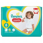 37 Couches Pampers Premium Protection Pants taille 6