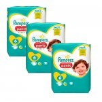 111 Couches Pampers Premium Protection Pants taille 6