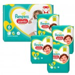 148 Couches Pampers Premium Protection Pants taille 6