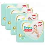 114 Couches Pampers Premium Protection Pants taille 4