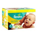 224 Couches Pampers New Baby Premium Protection taille 1