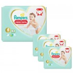 209 Couches Pampers Premium Protection Pants taille 4
