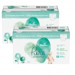 133 Couches Pampers Pure Protection taille 4