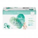 228 Couches Pampers Pure Protection taille 4