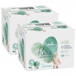 380 Couches Pampers Pure Protection taille 4