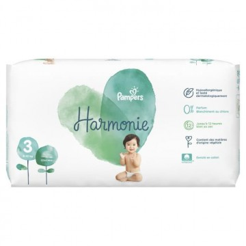 66 Couches Pampers Harmonie taille 3