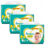480 Couches Pampers New Baby Premium Protection taille 4
