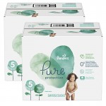153 Couches Pampers Pure Protection taille 5
