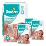 190 Couches Pampers ProCare Premium protection taille 0