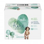 Giga pack de 289 Couches Pampers Pure Protection sur auchan