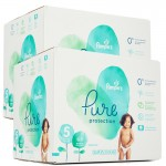 374 Couches Pampers Pure Protection taille 5