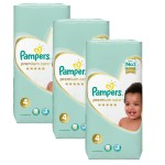 340 Couches Pampers New Baby Premium Care taille 4