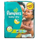 Pack 68 Couches de Pampers Baby Dry sur auchan