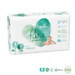 Pack 50 Couches Pampers Pure Protection sur auchan
