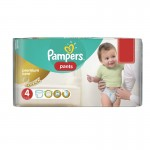 Pack de 66 Couches Pampers Premium Care Pants sur auchan